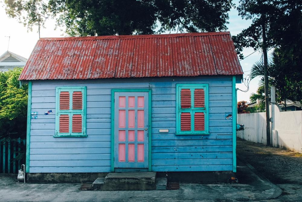 12 Polaroid Chattel House